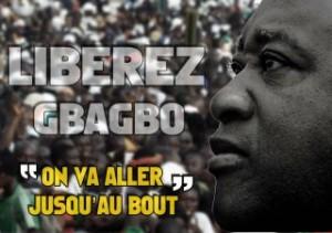 Afrocentricity International Accuse la CPI de Faire Preuve d'Injustice pour le Procès du Laurent Gbagbo Koudou. dans Afrique Gbagbo-on-ira-jusqyu-au-bout-300x211