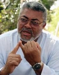 Jerry Rawlings hausse à nouveau le ton : « Gbagbo à La Haye ? Une humiliation pour l'Afrique ! » dans Afrique Jerry_Rawlings